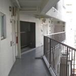 大森エリメントコープ廊下