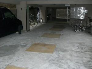 ニュー祐天寺マンション 駐車場&集合ポスト