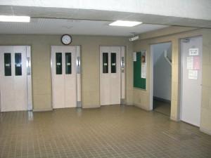 南砂町グリーンハイツ1号棟 エレベーター