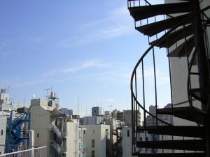ニュー恵比寿台ハイツ リビングダイニング 眺望