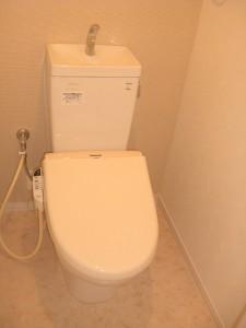武蔵野桜橋マンション トイレ