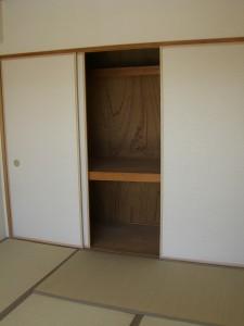 尾久橋スカイハイツ 和室(約6帖)押入れ
