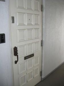 マンションヴィップ北池袋 玄関ドア