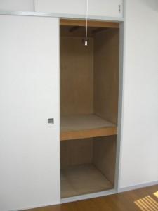 ストークマンション新宿 洋室(約4.5帖)押入れ