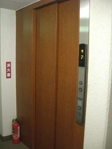 朝日南麻布マンション エレベーター