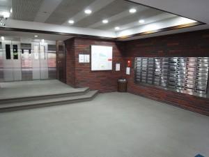 赤坂ナショナルコート フロアエントランス