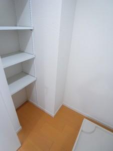 サードリハイツ本館 洗面室(収納棚)