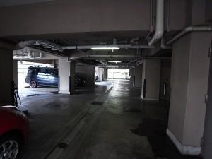 上馬マンション 駐車場