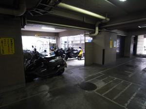 上馬マンション 駐輪場