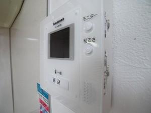 中野ハイネスコーポ モニター付きインターホン