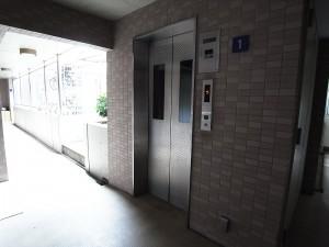 プライムコート戸山 エレベーター