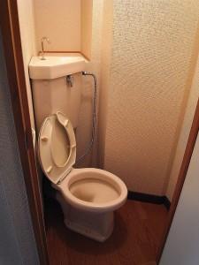 早稲田永谷マンション トイレ