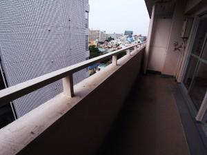 早稲田永谷マンション バルコニー