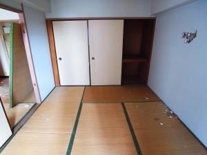 早稲田永谷マンション 和室(約6帖)